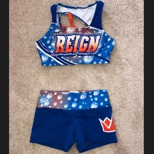 Maryland Twisters Reign 2018-2019 practice wear